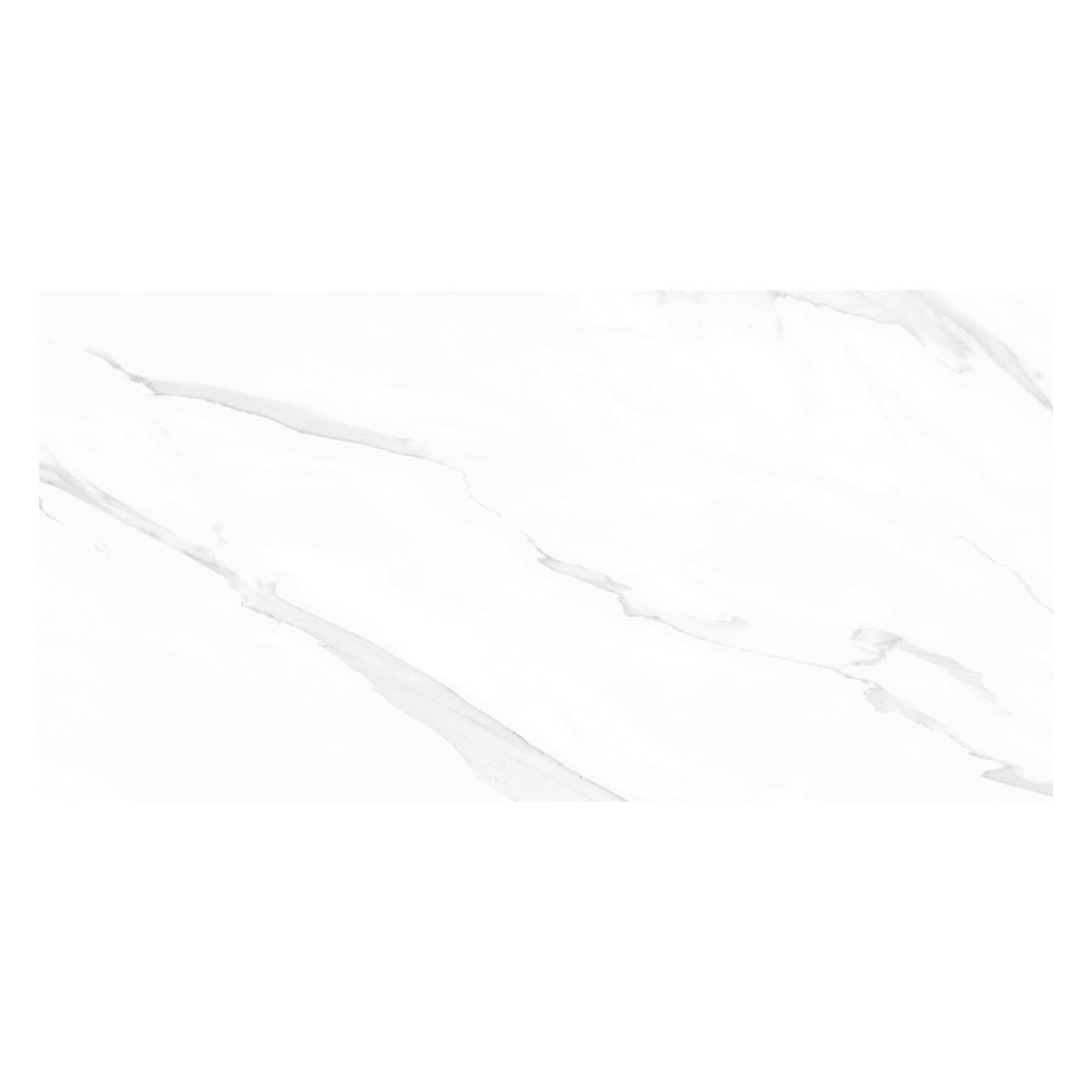 Porcelanato Luxury Blanco Brillante - 60X120 cm - 1.44 m2