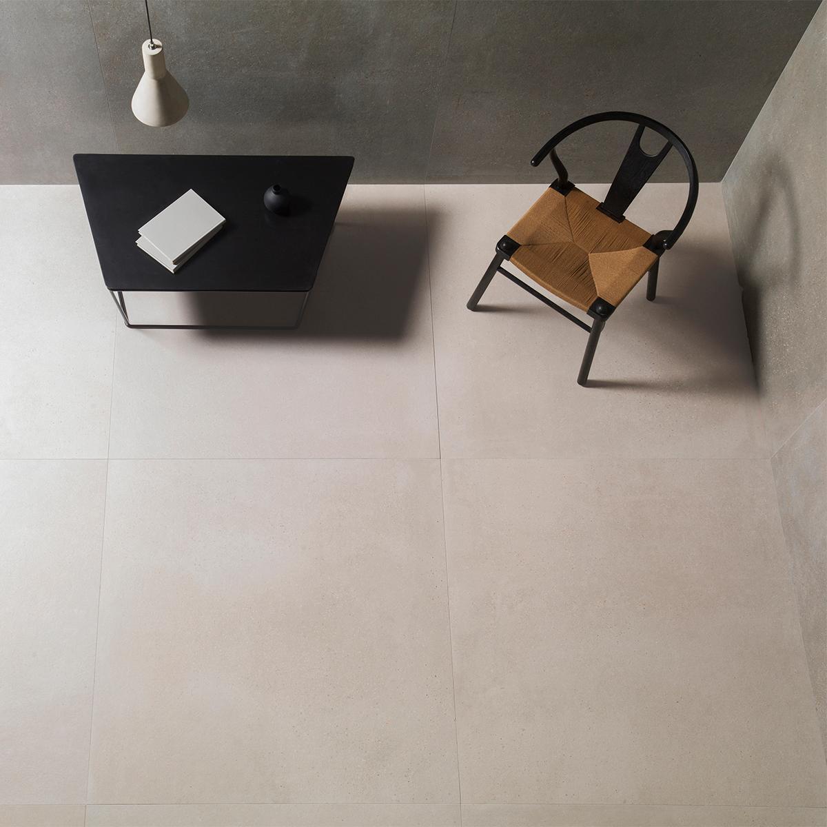 Porcelanato Bottega Caliza Beige Mate - 120X120 cm - 1.44 m2
