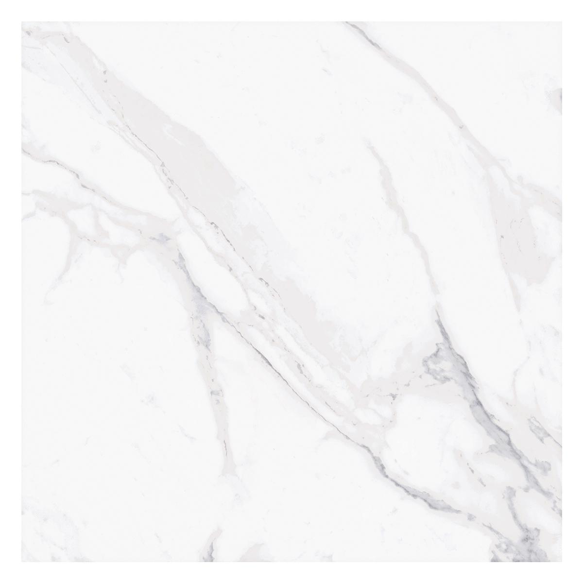 Porcelanato Fontana Blanco/Gris Mate - 60.8X60.8 cm - 1.85 m2