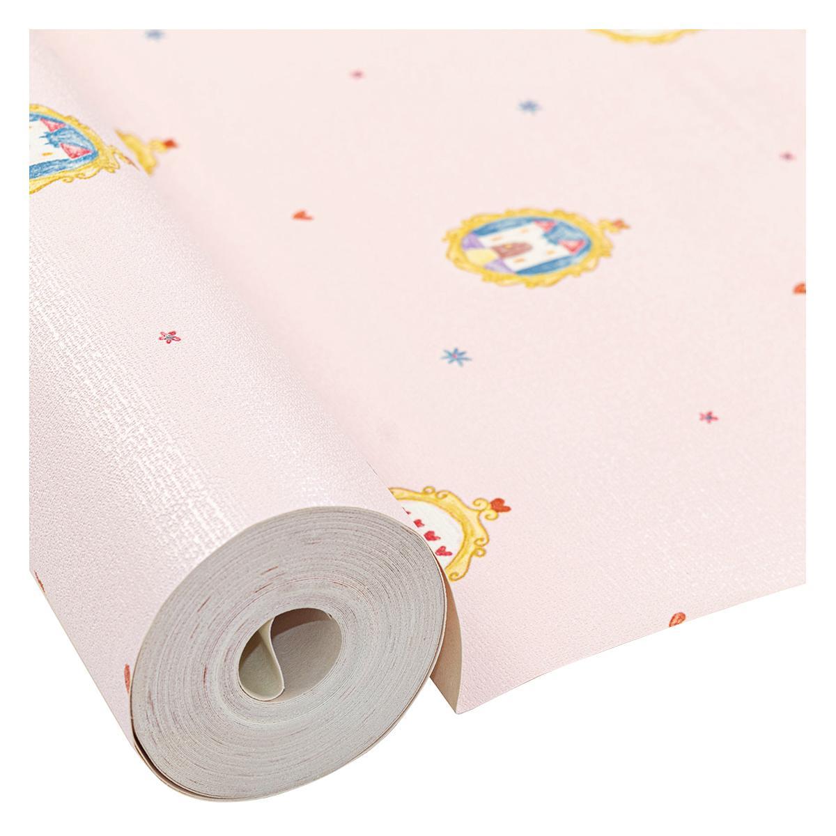 Papel Decorativo Adventures Reino Multicolor Mate - 53X1000 cm - 5.30 m2