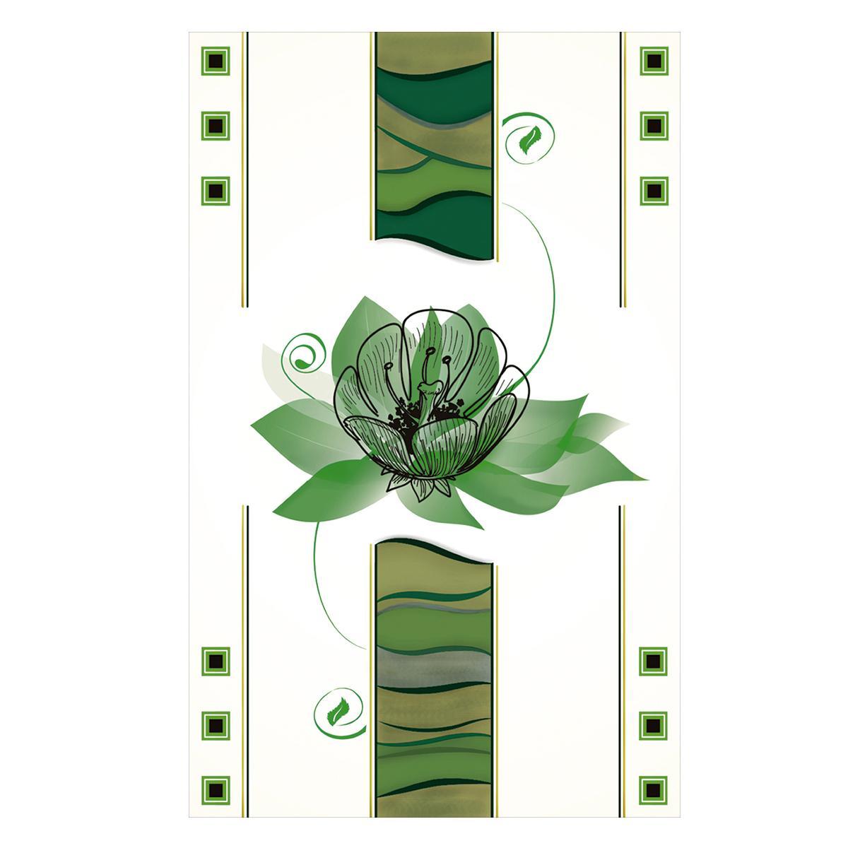 Inserto Dafne Verde Brillante - 25X40 cm - 1 pza