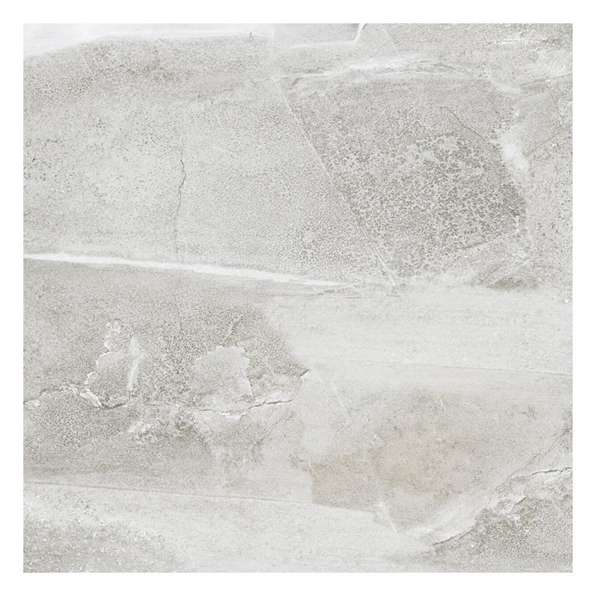 Porcelanato Eufrates Gris Claro Brillante - 60X60 cm - 1.44 m2