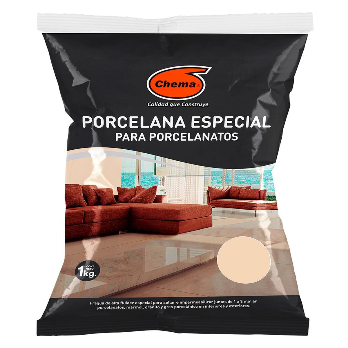 Fragua Toscano Porcelana Especial Para Porcelanato 1 KG - Beige