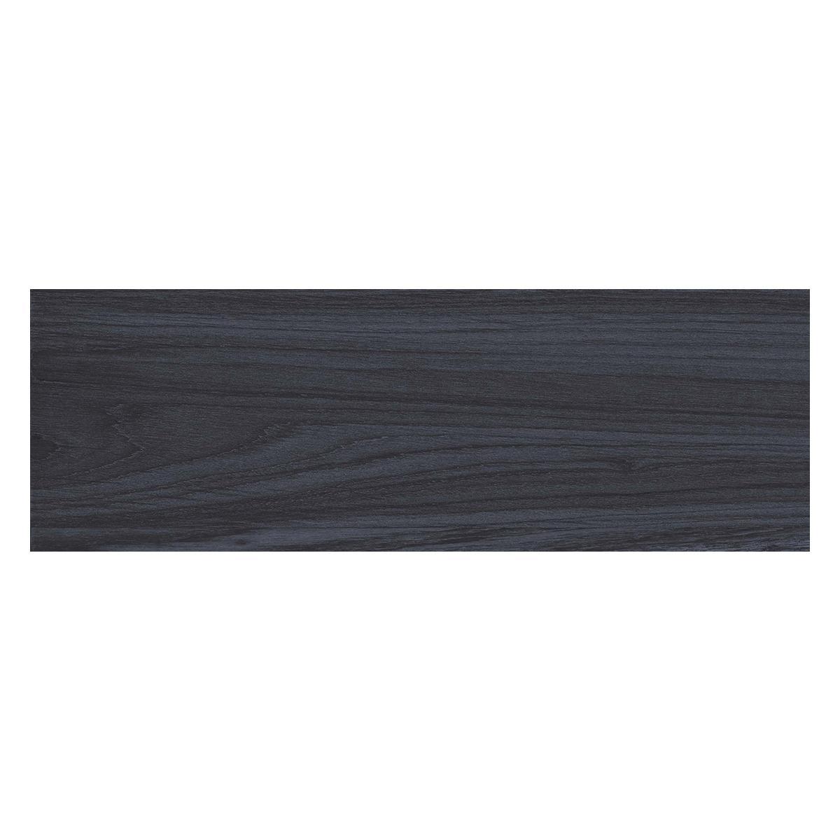 Piso Lucus Negro Mate - 19X60 cm - 1.53 m2