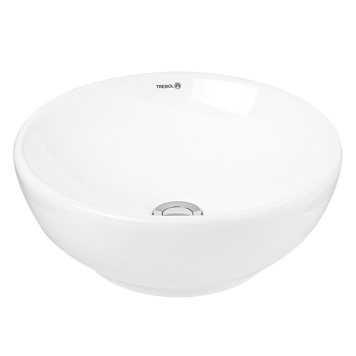 Bowl Luna Para Sobreponer - Blanco
