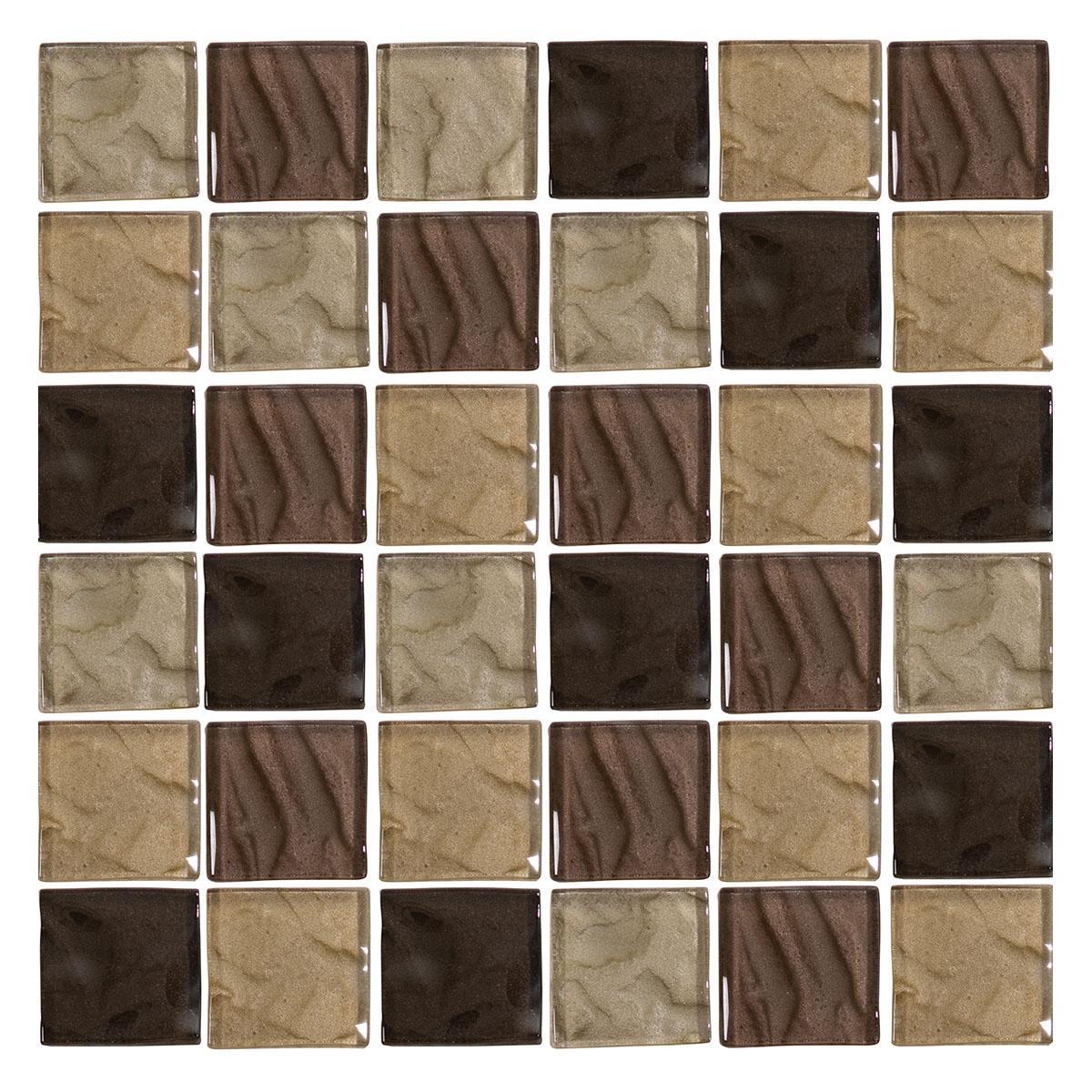 Pepelma Mix Marrón Brillante - 30X30 cm - 1 Pza