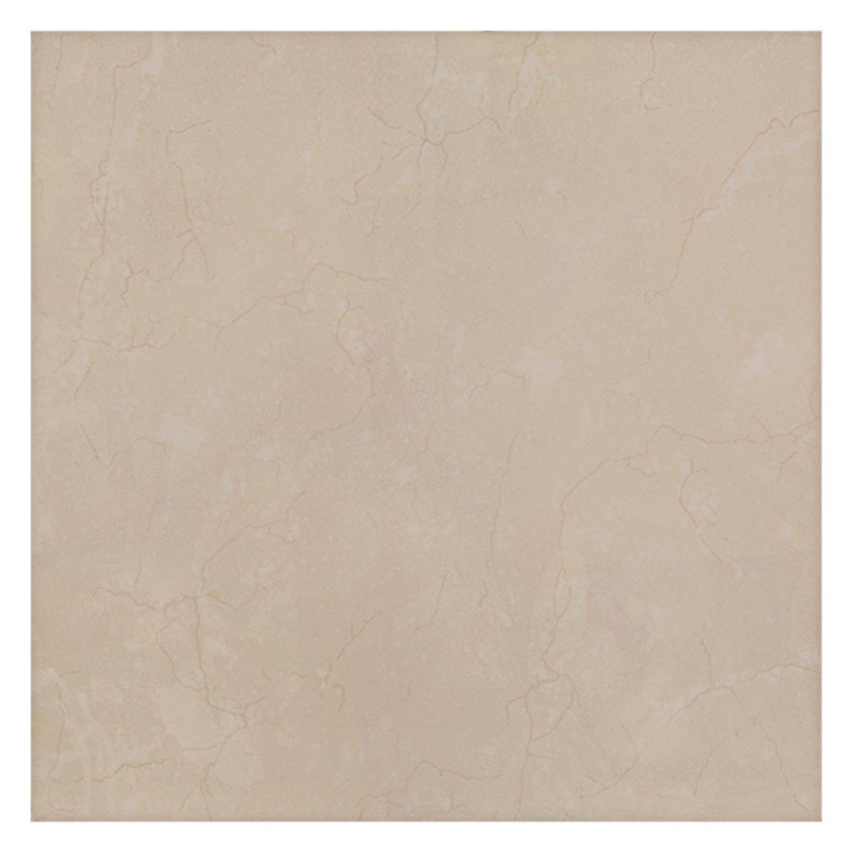 Porcelanato Marmol Beige Brillante - 60X60 cm - 1.44 m2