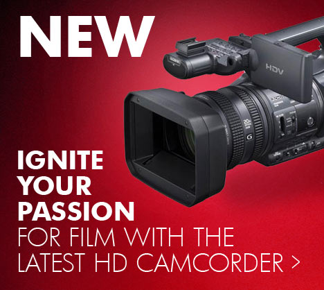 New - Ignite your passion for film with the latest HD camcorder...