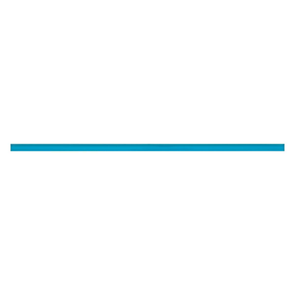 Lapiz Vidrio Aqua Celeste Brillante - 1X39 cm