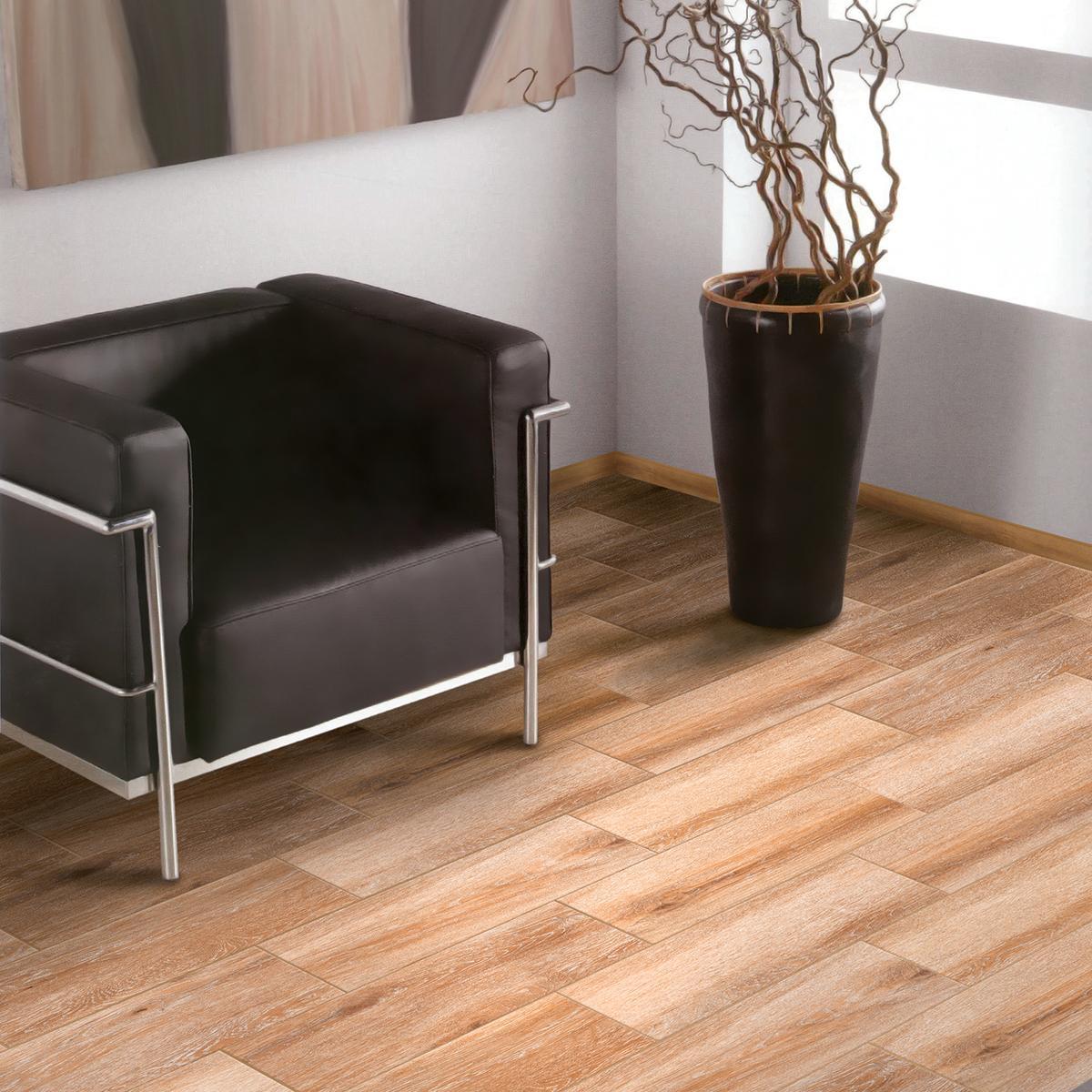 Piso Excellence Beige Mate - 20X61 cm - 1.61 m2