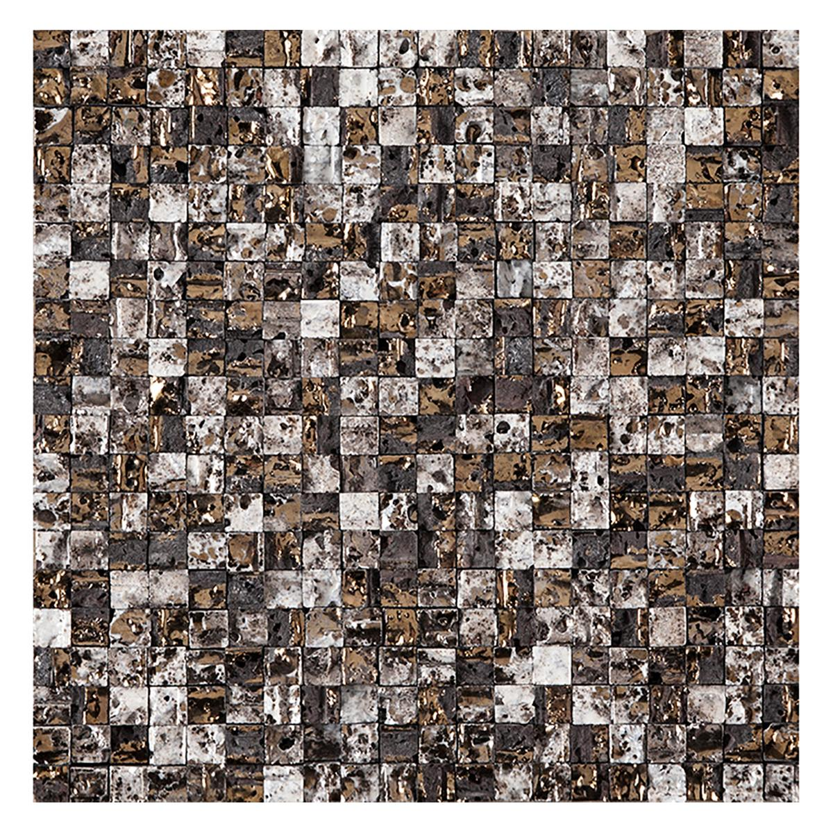 Mosaico Elite Multicolor Brillante/Mate - 30.1X30.1 cm - 1 pza