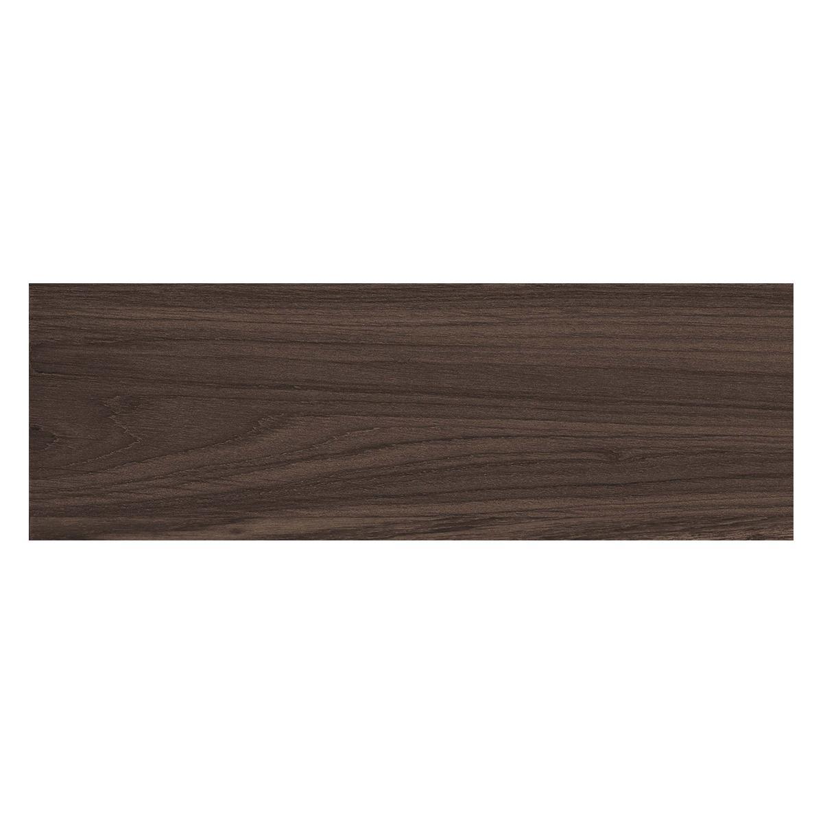 Piso Lucus Marrón Oscuro Mate - 19X60 cm - 1.53 m2
