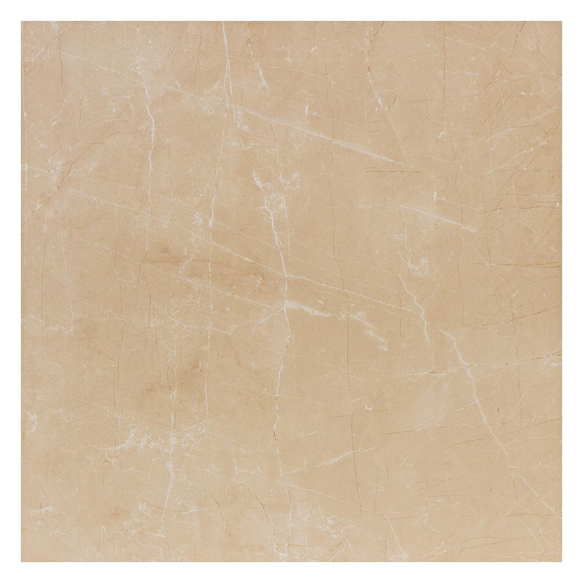 Porcelanato Agatta Beige Satinado - 60X60 cm - 1.44 m2