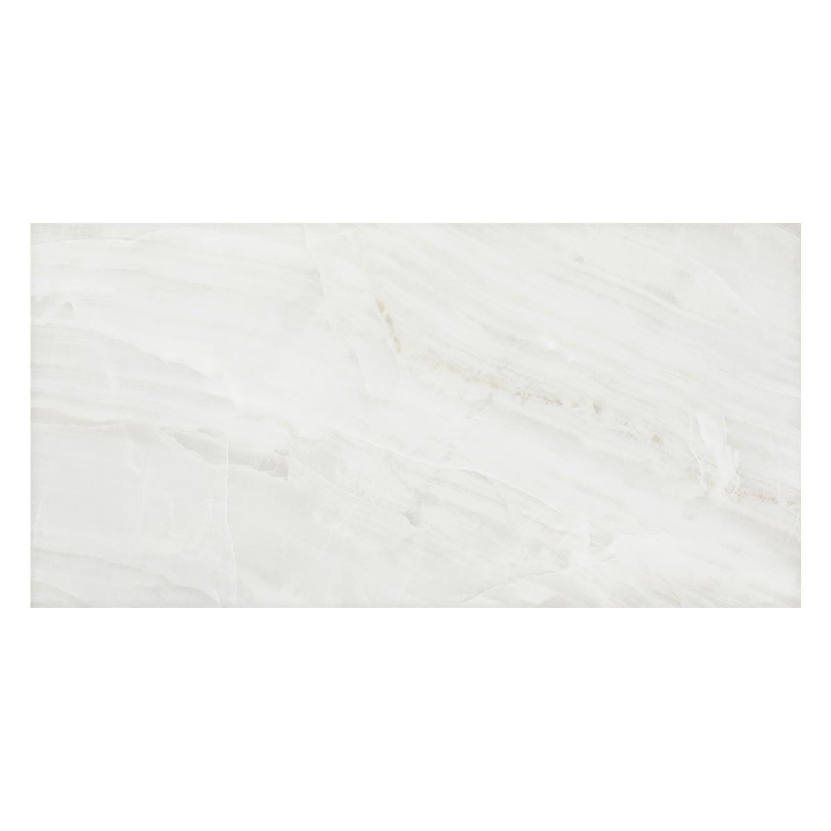 Porcelanato Perola Blanco Brillante - 59.4X118.2 cm - 1.39 m2