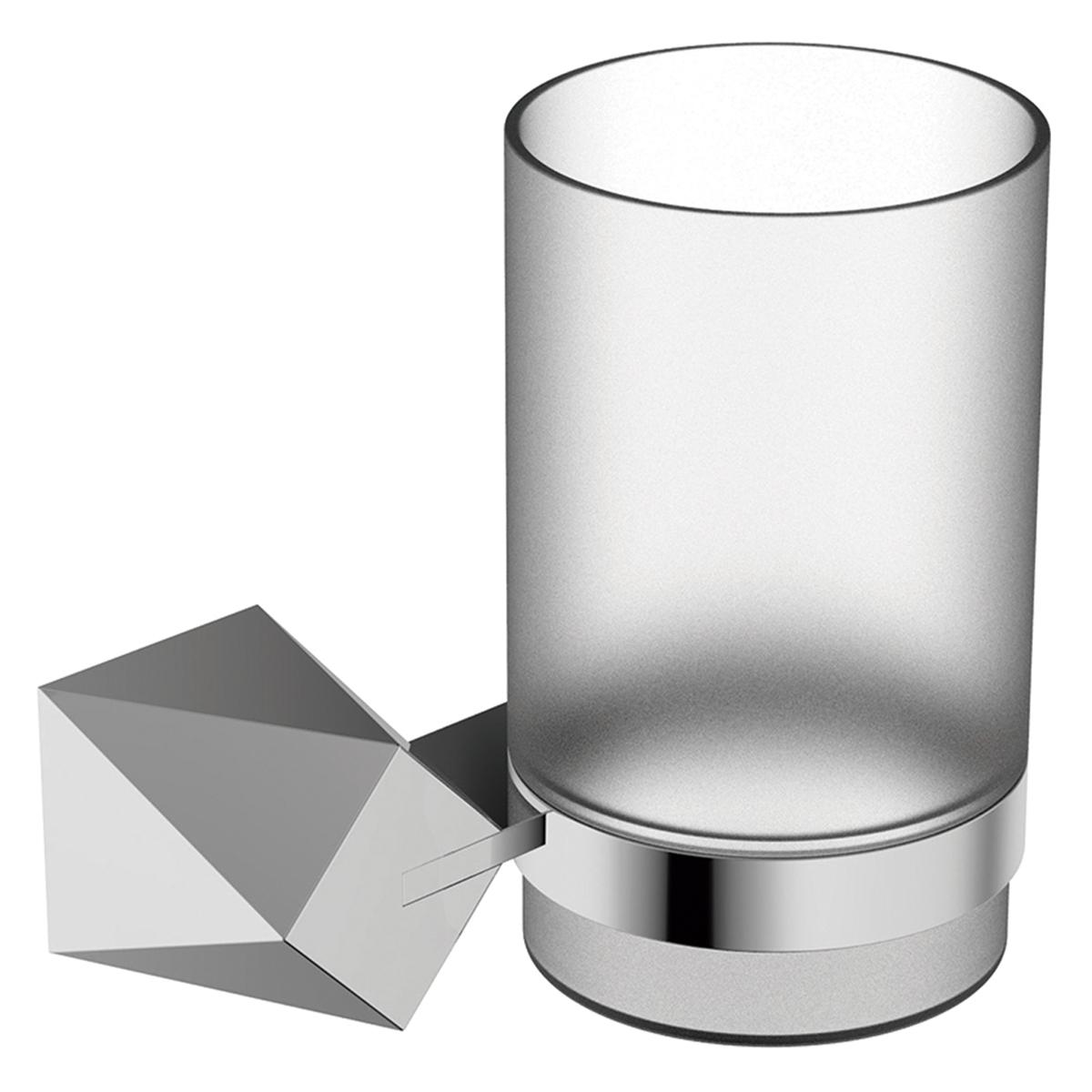 Portavaso Diamond Cromado